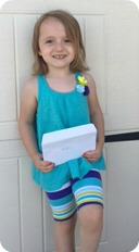 Paige - May No Cavity Club winner