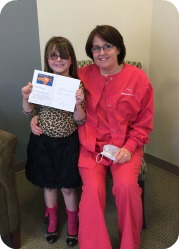 February No Cavity Club Winner