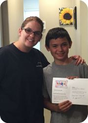 no cavity club June winner
